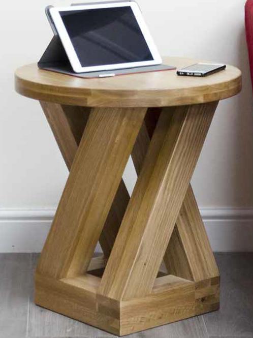 Z- Range Round 4 Leg Lamp Table