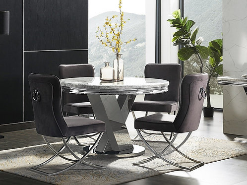 Sylvia Round Dining Table 1.2m