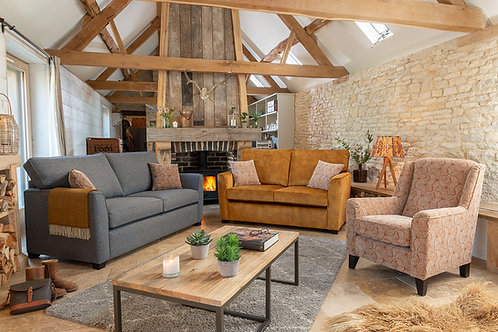 Reuben 3 Seater Sofa Bed by Alstons