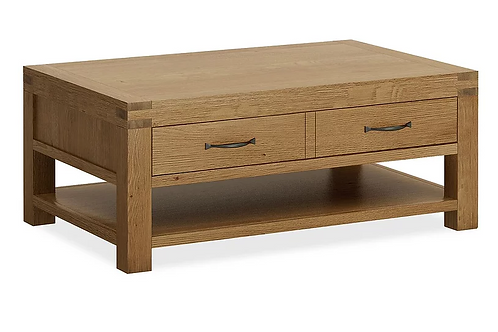 Sherwood Coffee Table + Drawers G3695