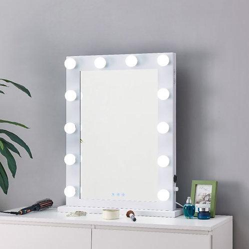 White Hollywood Mirror
