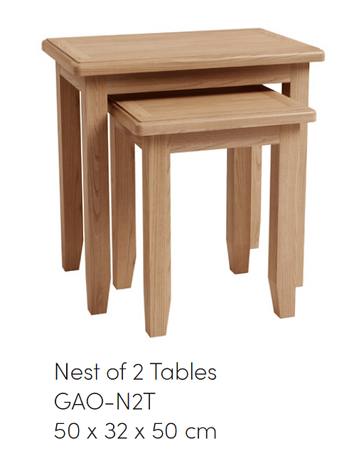 GAO Nest of 2 Tables