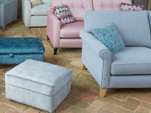 Poppy Footstool by Alstons