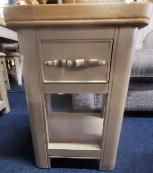 Oxford Painted 1 Drawer End Table