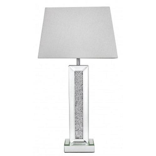 Milano Pillar Lamp - 13 inch White Shade