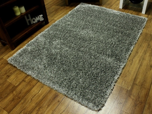 Grey Sensations Shaggy Rug