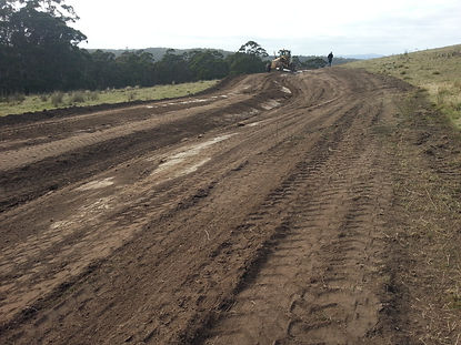 Permaculture earthworks roads