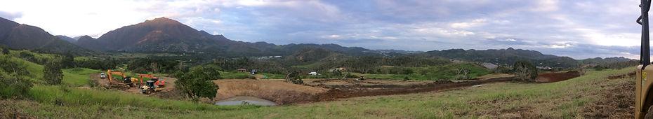 Permaculture water harvesting earthworks