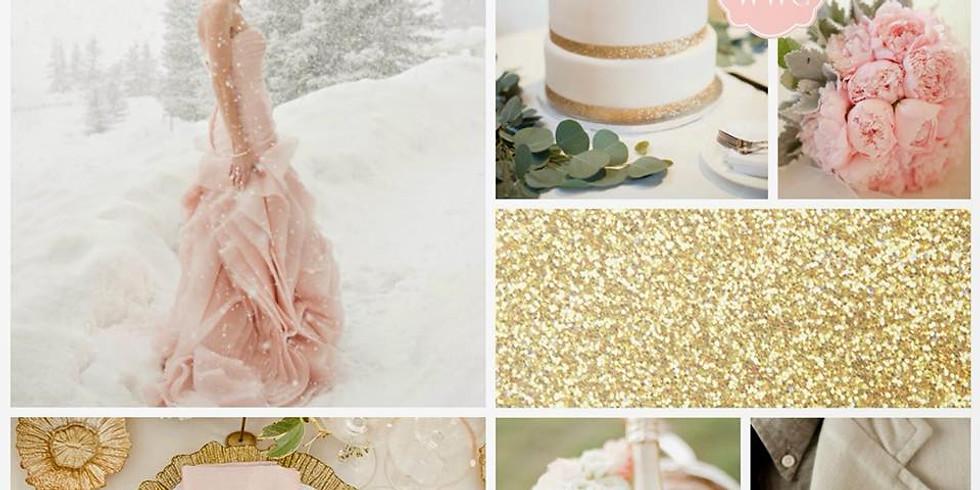 Blush & Gold Winter Styled Shoot