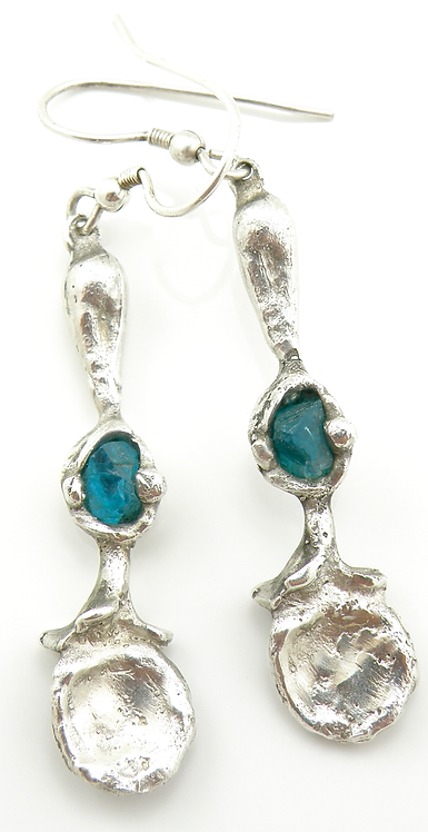 Apatite Stone Earrings