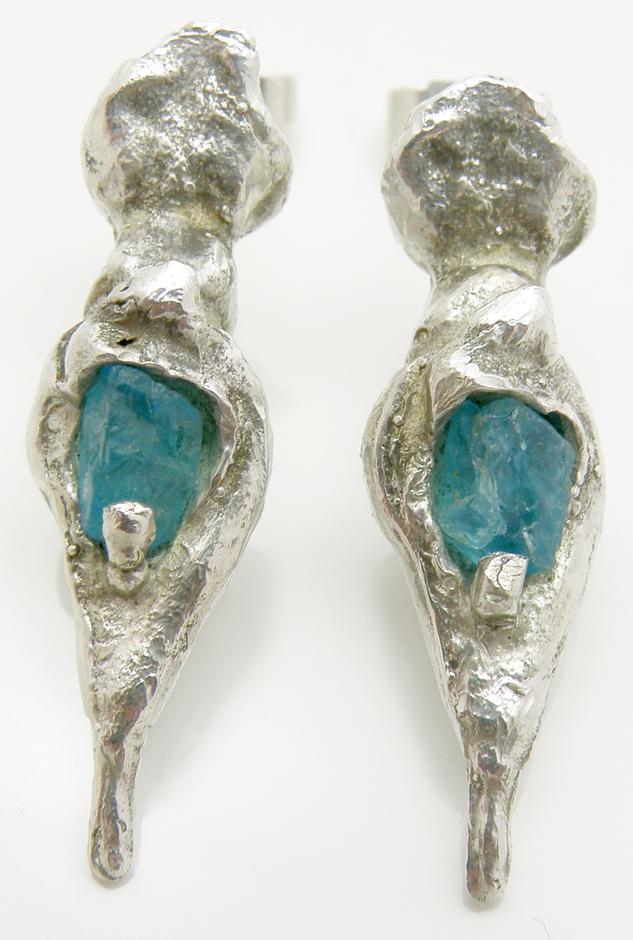 Apatite Stone Earrings