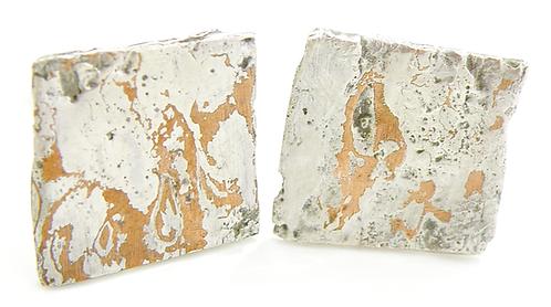 Mokume-Gan Earrings