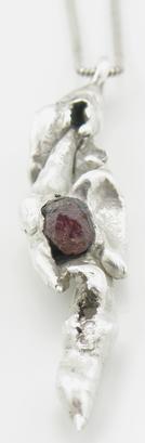 Red Garnet Pendant