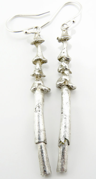 Organic Shell Earrings