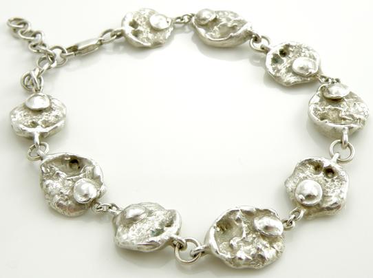 Oval Organic Bracelet