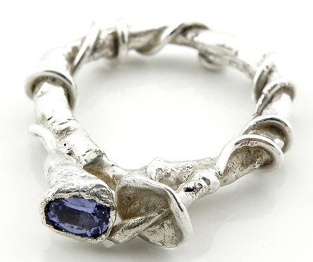 Tanzanite Morning Glory Ring