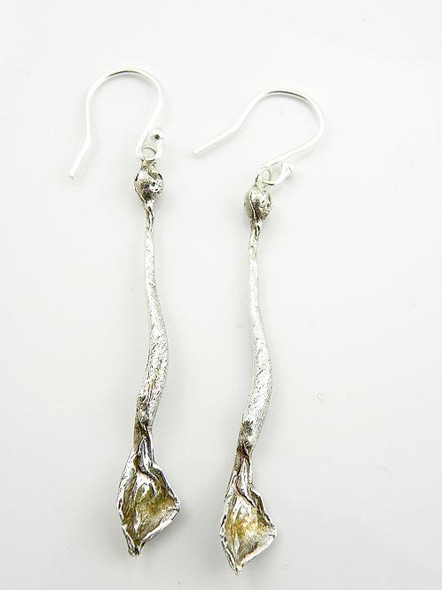 Curved Organic Earrings