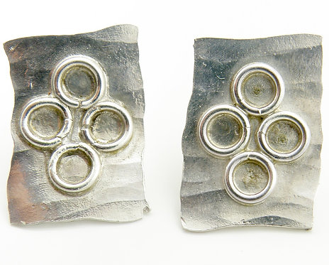 Tetra Rings Earrings