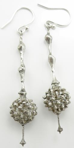 Fractal Organic Earrings