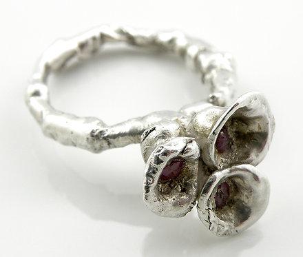 Organic Ruby Ring
