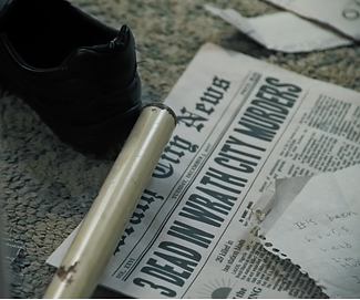 Film prop newspaper