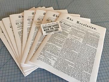 Prop newspaper