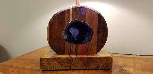 Multiwood Agate Lamp