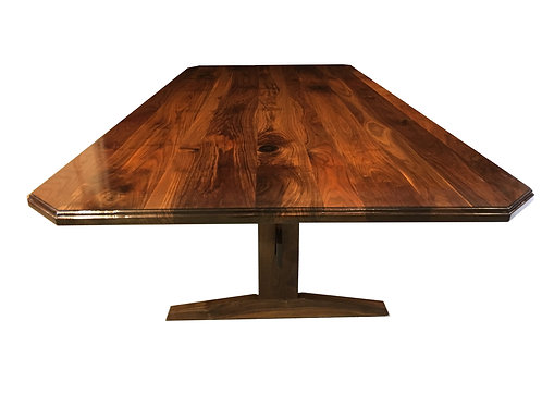 Large Walnut Dining or Boardroom Table