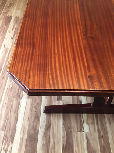 Trestle Dining Room Table for 12