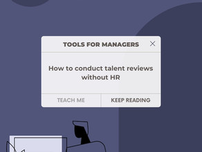 How to Conduct Talent Reviews Without HR
