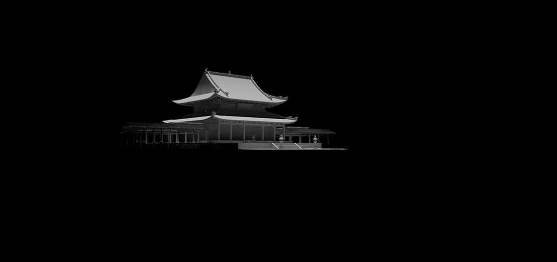 Asian Temple Raw Model
