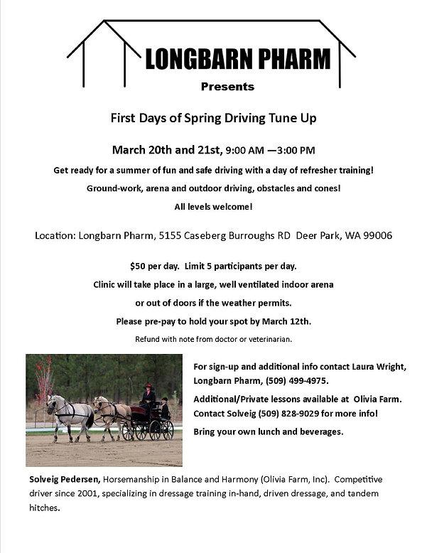 Longbarn Pharm Events