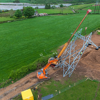 BROCKAGHBOY 110KV OVERHEAD LINE BUILD