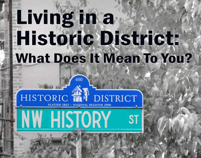 Restore Oregon Forum On Living In A Historic District
