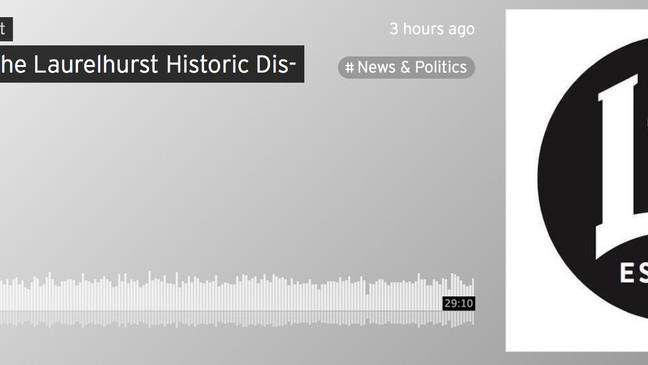 Podcast Episode About the Laurelhurst Historic District Effort