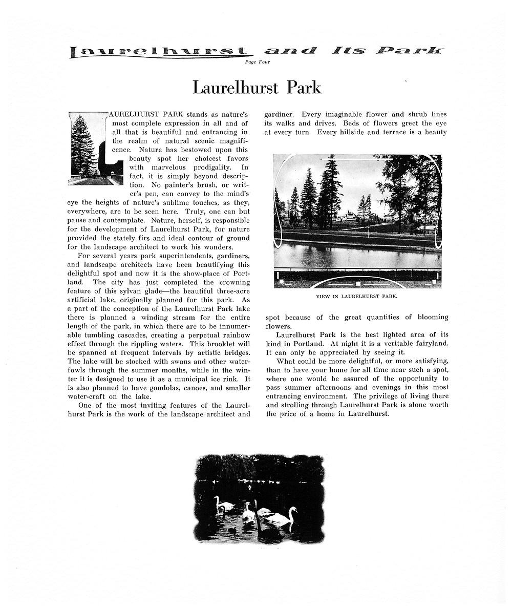 Page 4 - Laurelhurst Sales Brochure
