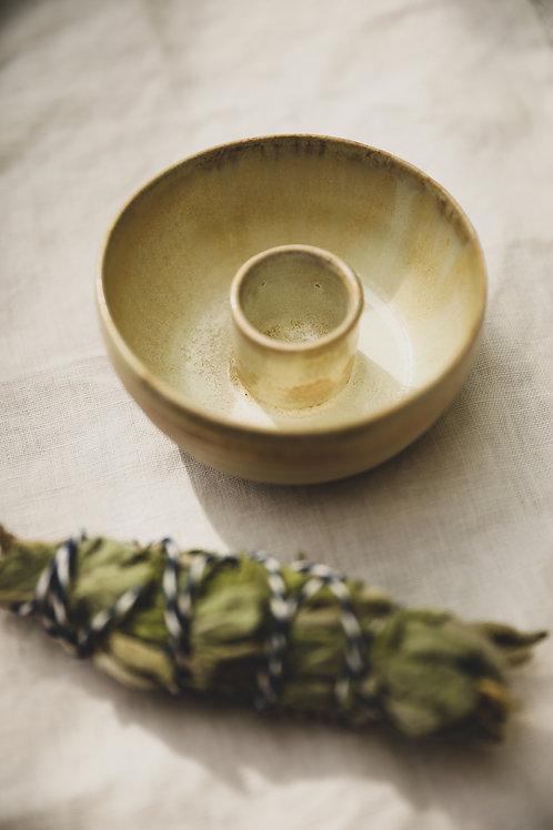 Smudge Stick Bowl autumn gold