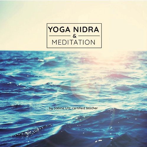 YOGA NIDRA & MEDITATION | CD