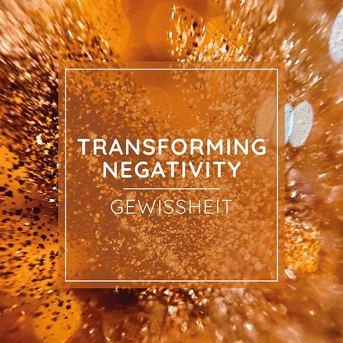 TRANSFORMING NEGATIVITY PRACTICE - Gewissheit