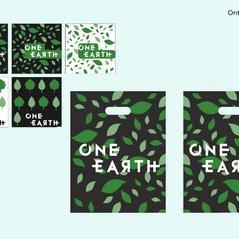 Ontwerp tassen One Earth