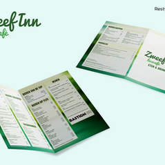 Restyle menukaart