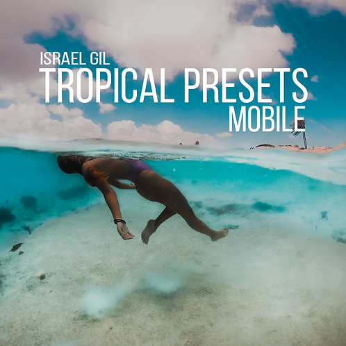 Tropical Vibes Lightroom Presets Mobile
