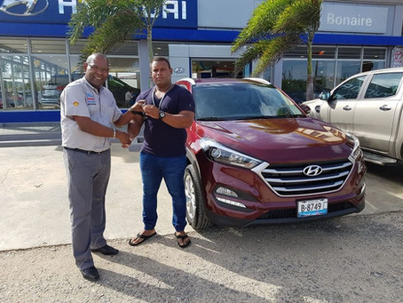 New Hyundai Tucson GL sold