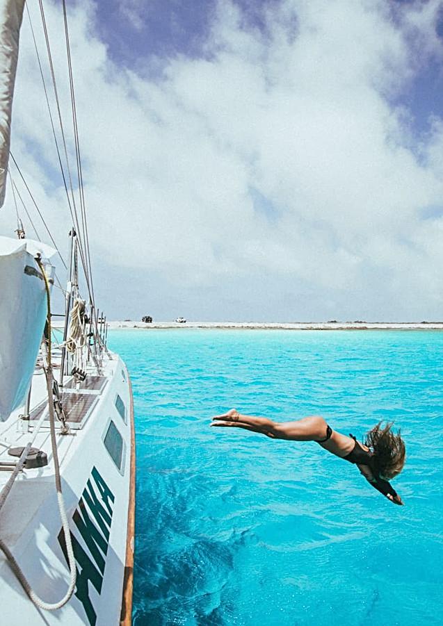 Jade Cardenas - Catamaran Experience