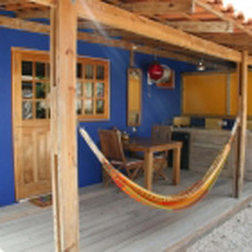 Studio Porch with kitchen