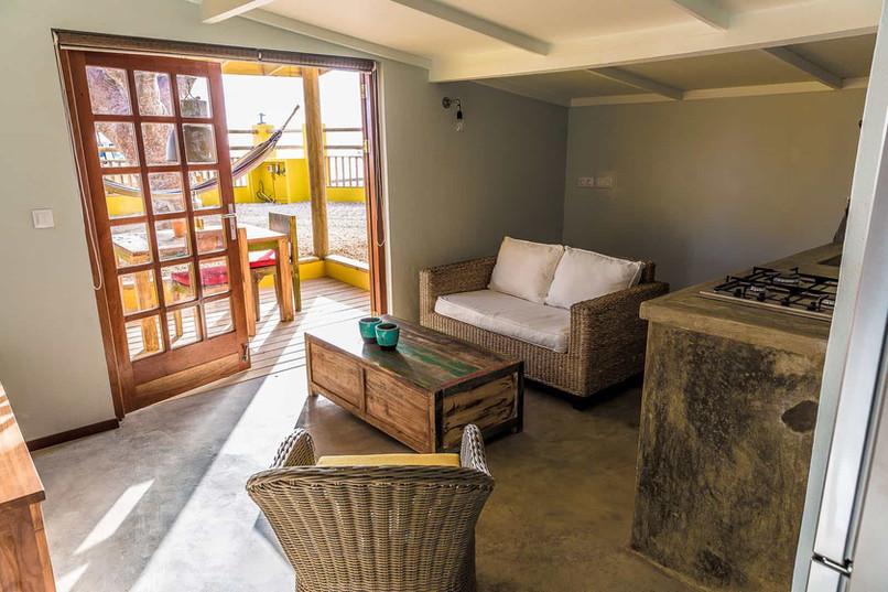 living room and porch warawara
