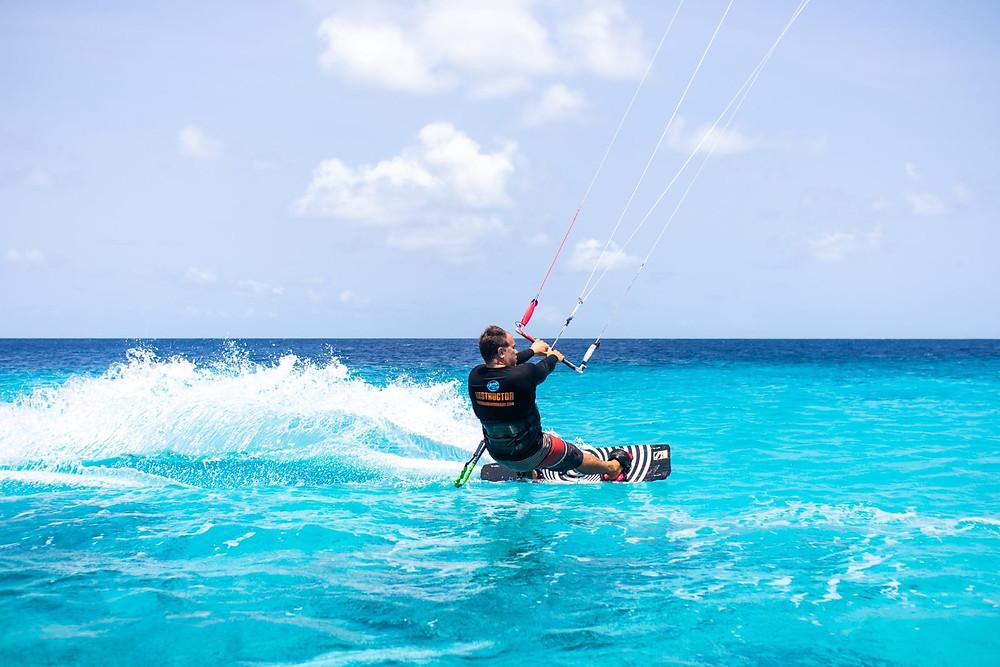 Kitesurfing Bonaire - Kiteboarding Bonaire - Ossie Garcia