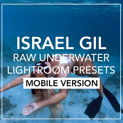 Underwater Lightroom Presets (Mobile)