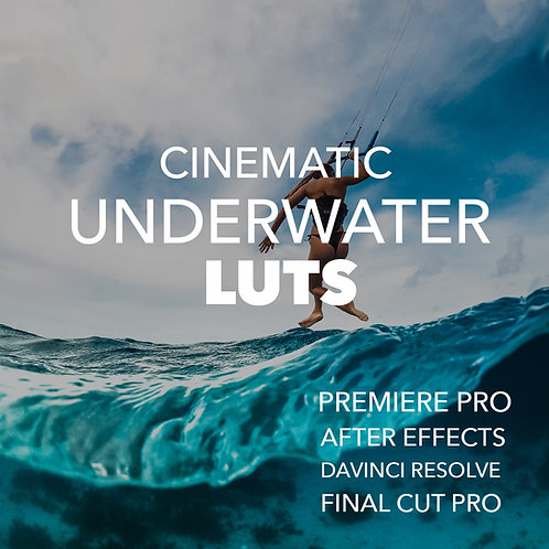 Underwater Cinematic LUTs