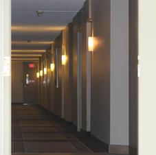 Corridors tranquilles et sécuritaires